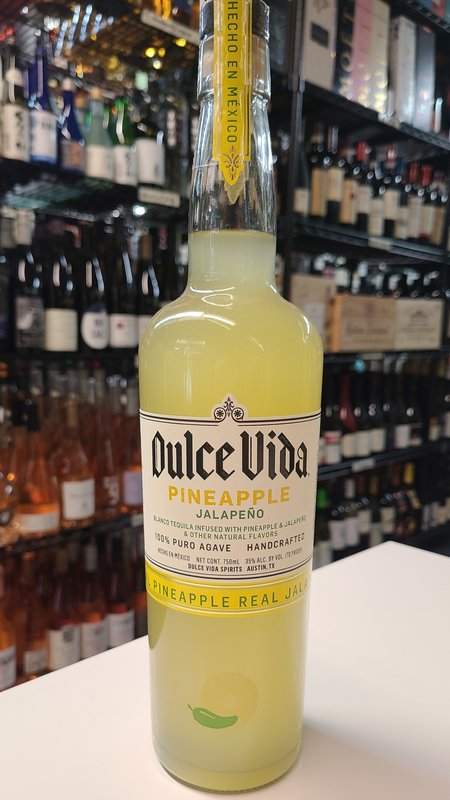 Dulce Vida Dulce Vida Pineapple Jalapeno Tequila 750ml