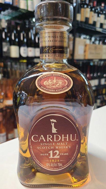 Cardhu Cardhu 12Y Single Malt Scotch  750ML