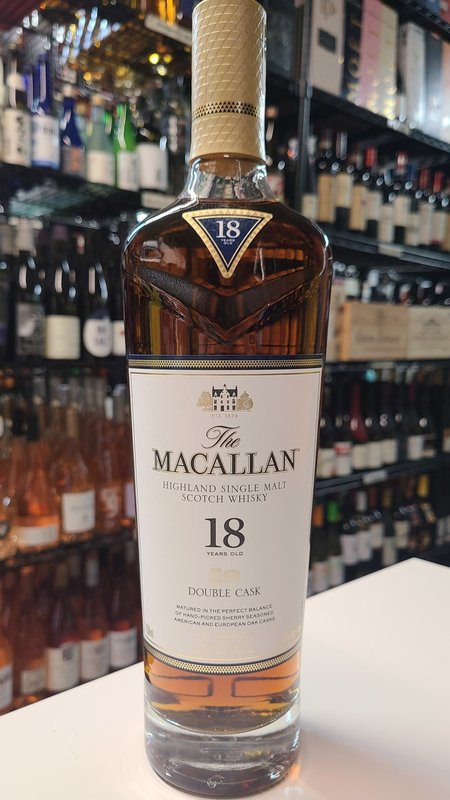 Macallan The Macallan 18 Year Double Cask Scotch Whisky 750ml