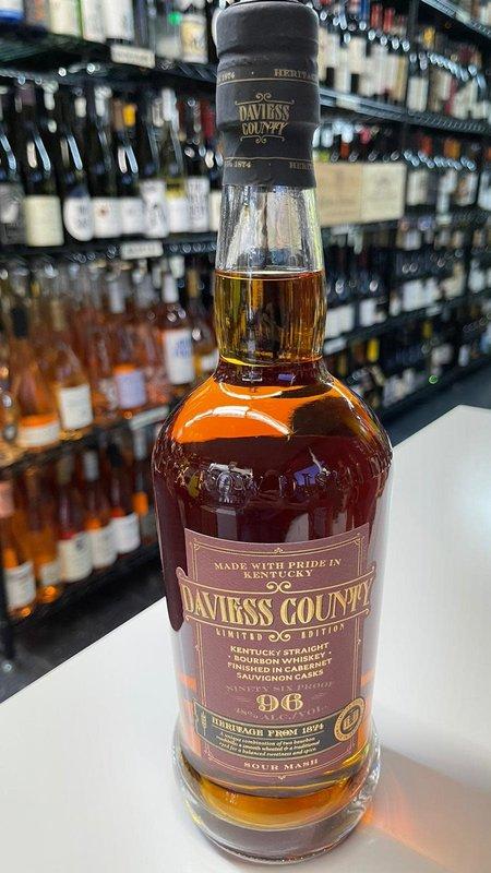 Daviess County Daviess County Cabernet Finished Bourbon 750ml