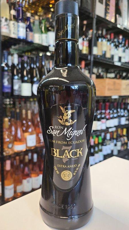 San Miguel Ron San Miguel Black 7Y Rum 750ml