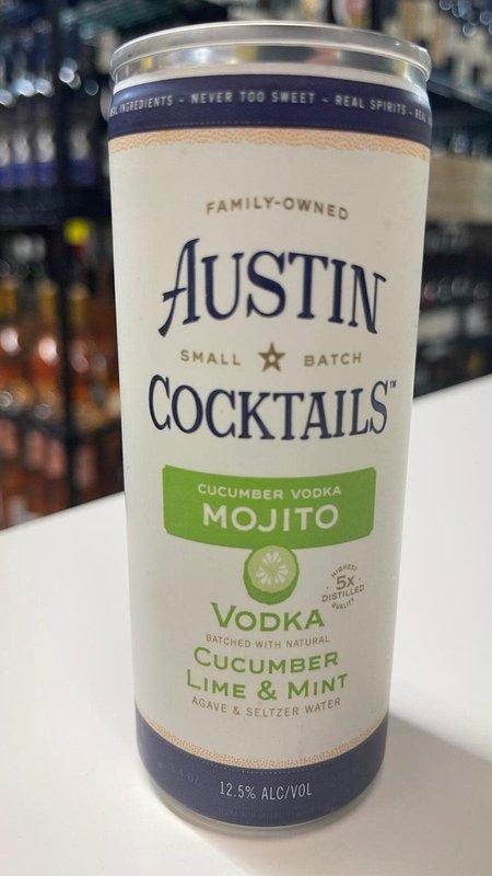 Austin Cocktails Austin Cocktails Sparkling Cucumber Vodka Mojito Can 250ml