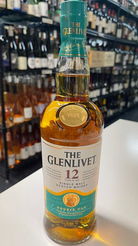The Glenlivet The Glenlivet Single Malt 12Y Scotch 750ml