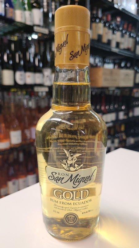 San Miguel Ron San Miguel Gold 3Y Rum 375ml