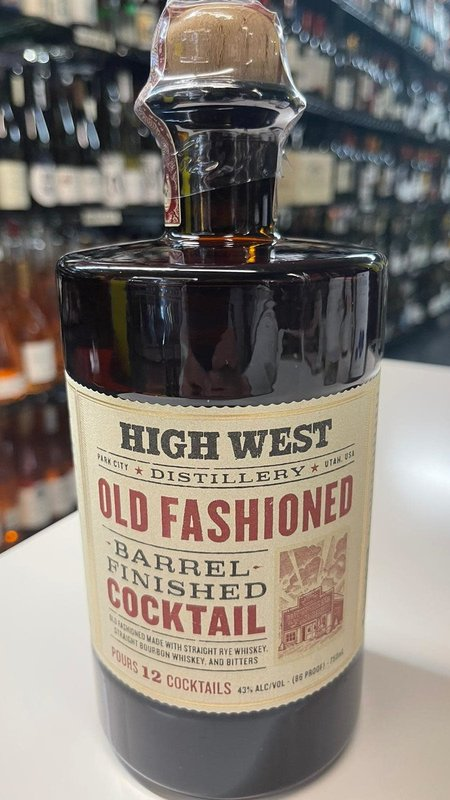High West High West Cocktail Old Fashioned 750ml