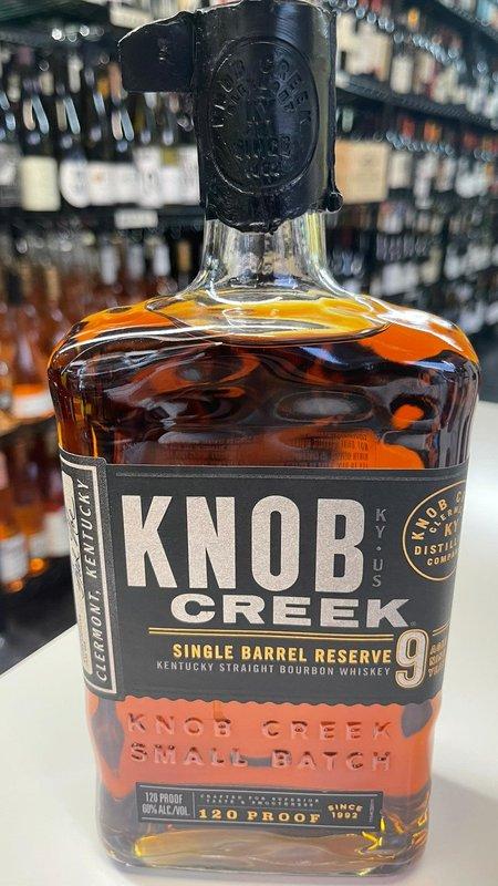 Knob Creek Knob Creek Single Barrel Reserve 9Y Bourbon 750ml