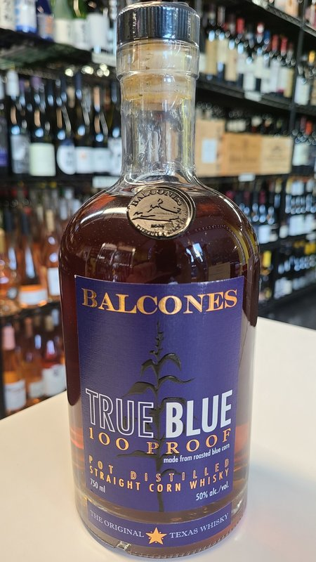 Balcones Corn True Blue Whisky 750ml