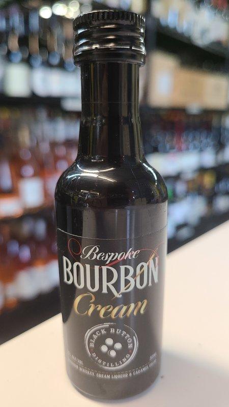 Bourbon Cream Black Button Bespoke Bourbon Cream 50ml