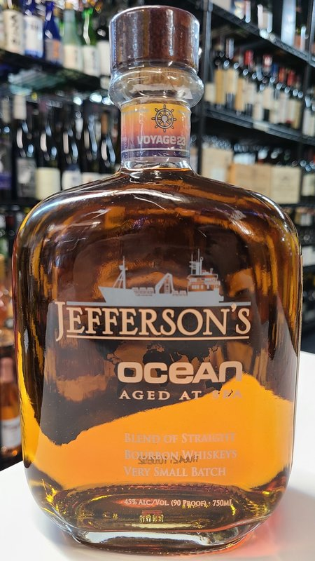 Jefferson's Reserve Jefferson's Ocean Aged at Sea Bourbon 750ml
