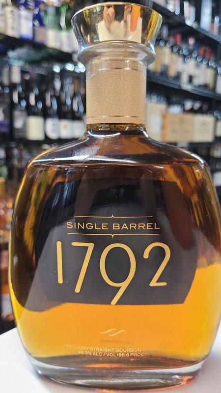 1792 Bourbon Single Barrel Whisky 750ml