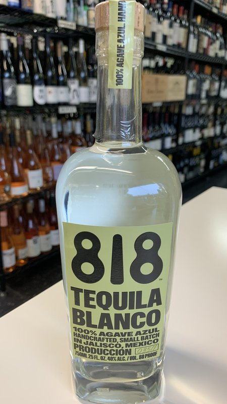 818 Blanco Tequila 750ml