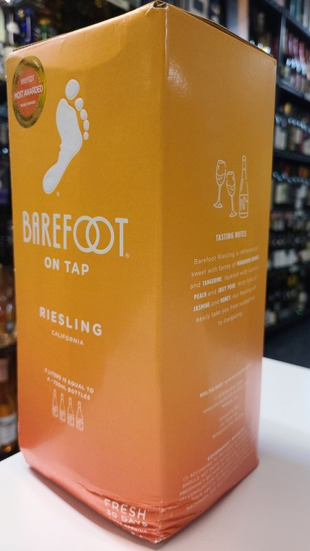 Barefoot Barefoot Riesling 2020 3L