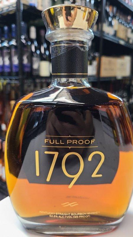 1792 Full Proof Bourbon Whisky 750ml