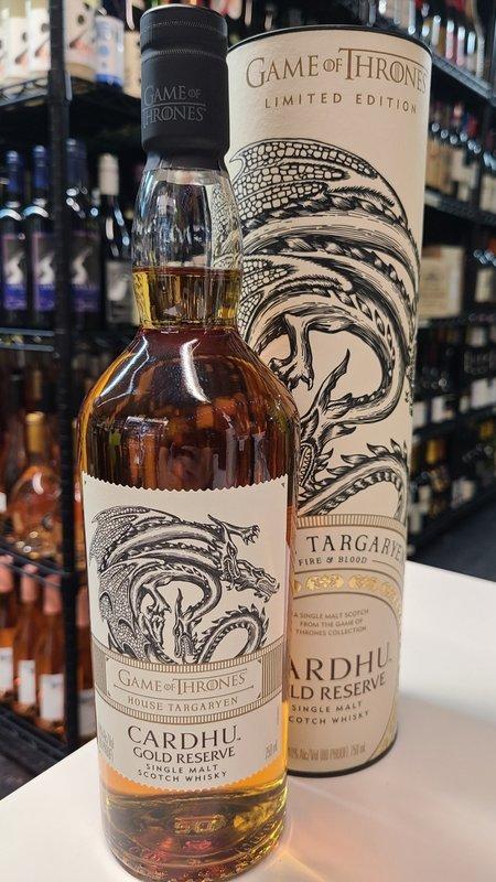 Cardhu Cardhu Gold Reserve Single Malt Scotch  750ML