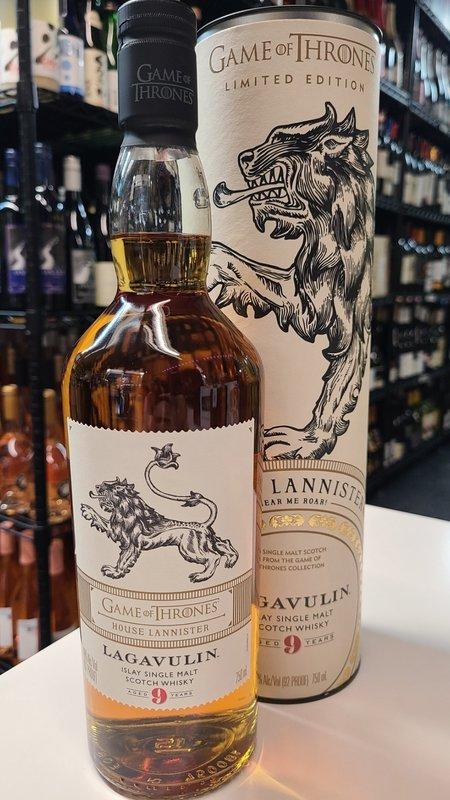 Lagavulin Lagavulin 9Y  Islay Single Malt  Scotch Game Of Thrones Limited Edition Whisky 750ml