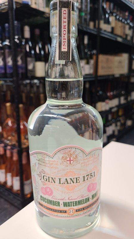 Gin Lane Gin Lane 1751 Cucumber Watermelon Mint  Gin 750ml