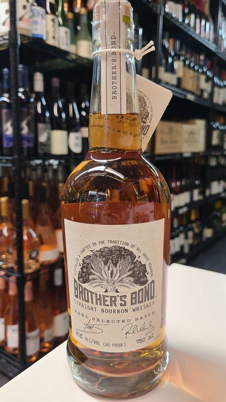 Brother's Bond Straight Bourbon Whiskey 750ml