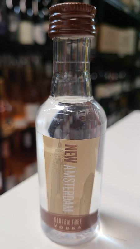 New Amsterdam New Amsterdam Gluten Free Vodka 50ml