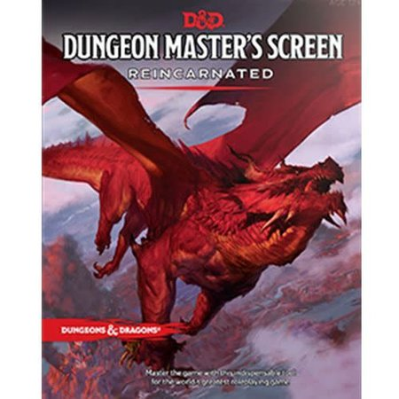 Dungeons and Dragons 5th Edition RPG: Dungeon Master's Screen Reincarnated