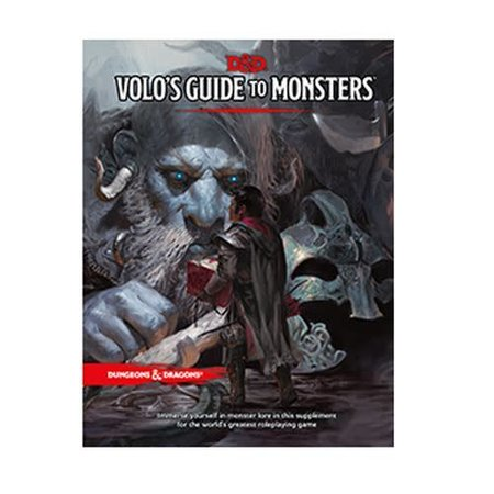 Dungeons and Dragons 5th Edition RPG: Volo's Guide to Monsters
