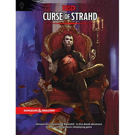 Dungeons and Dragons 5th Edition RPG: Curse of Strahd