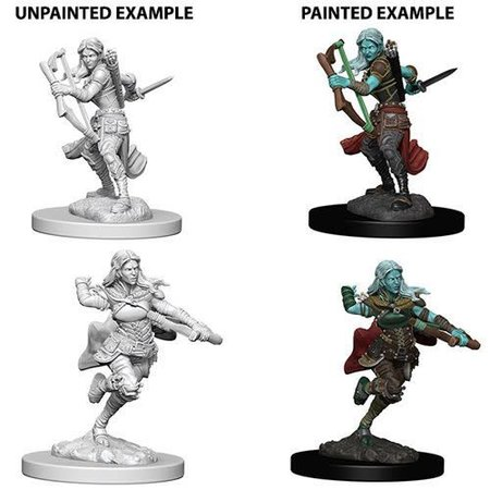 D&D Unpainted Minis - Air Genasi Rogue (Female)