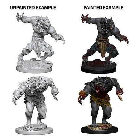 D&D Unpainted Minis - Werewolves