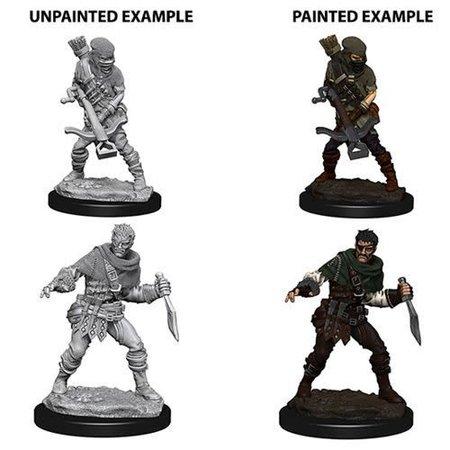 Pathfinder Battles Unpainted Minis - Bandits