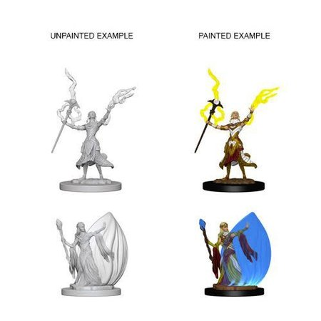 D&D Unpainted Minis - Elf Wizard (Female)
