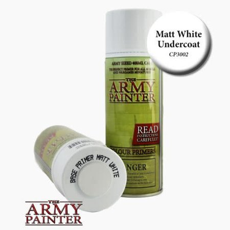 Matte White Primer - Spray Can