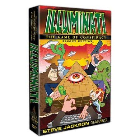 Illuminati: The Game of Conspiracy - Second Edition
