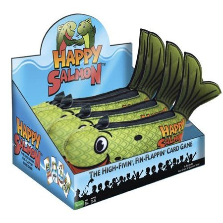 Happy Salmon: Green Fish