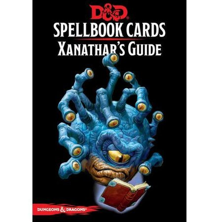 Updated Spellbook Cards - Xanathar's Guide