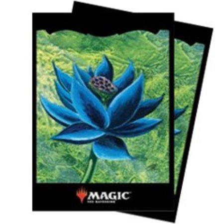 Ultra Pro - 66mm X 91mm - Chroma Fusion MTG Sleeves - Black Lotus 100 ct.