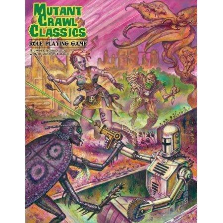 Mutant Crawl Classics - Core Bundle with Judge's Screen