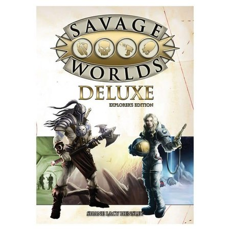 Savage Worlds Deluxe: Explorer's Edition (Core Rules)