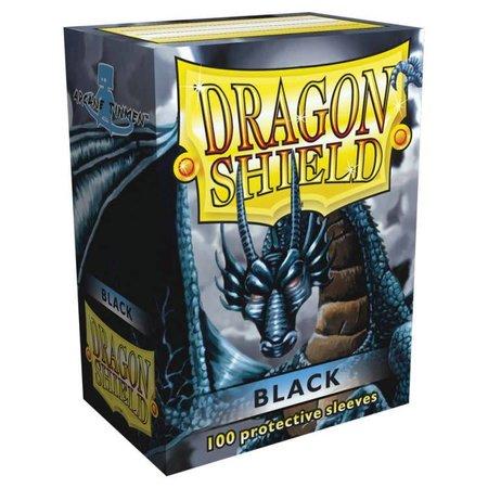 Dragon Shield - 63mm X 88mm Standard Classic - Black 100 ct.