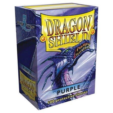 Dragon Shield - 63mm X 88mm Standard Classic - Purple 100 ct.