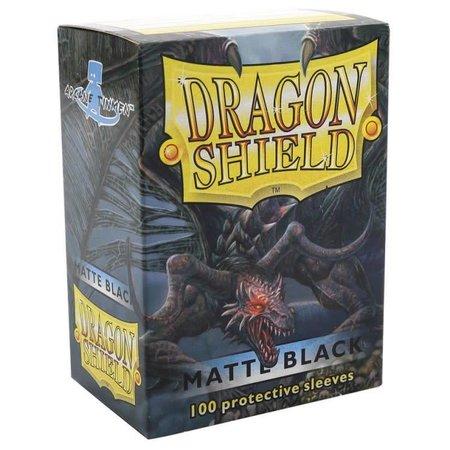 Dragon Shield - 63mm X 88mm Standard Matte - Black 100 ct.