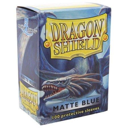 Dragon Shield - 63mm X 88mm Standard Matte - Blue 100 ct.