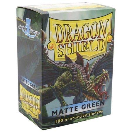 Dragon Shield - 63mm X 88mm Standard Matte - Green 100 ct.