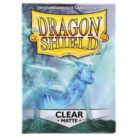 Dragon Shield - 63mm X 88mm Standard Matte - Clear 100 ct.