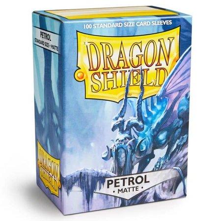 Dragon Shield - 63mm X 88mm Standard Matte - Petrol 100 ct.