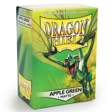 Dragon Shield - 63mm X 88mm Standard Matte - Apple Green 100 ct.