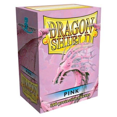 Dragon Shield - 63mm X 88mm Standard Classic - Pink 100 ct.