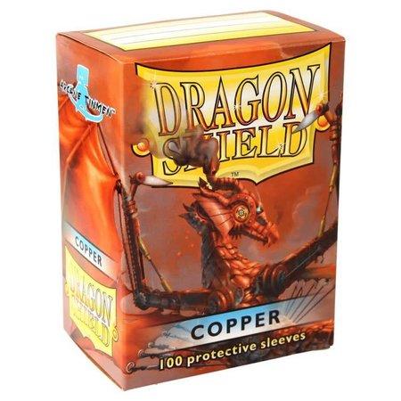 Dragon Shield - 63mm X 88mm Standard Classic - Copper 100 ct.