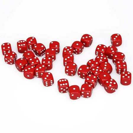 CHX 25804 Opaque Red w/White D6