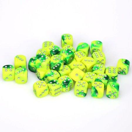 CHX 26854 Gemini Green-Yellow w/Silver D6