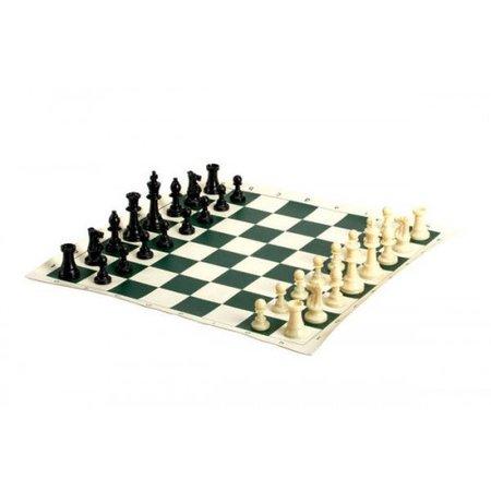 """Chess - 20"""" Vinyl Roll Up Tournament Set (CH2109)"""