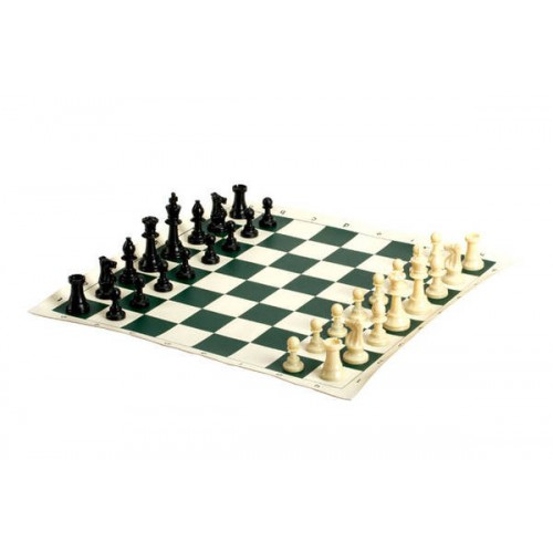 Multi-Color Staroyun 1050279 Plastic Man Tournament Chess Set